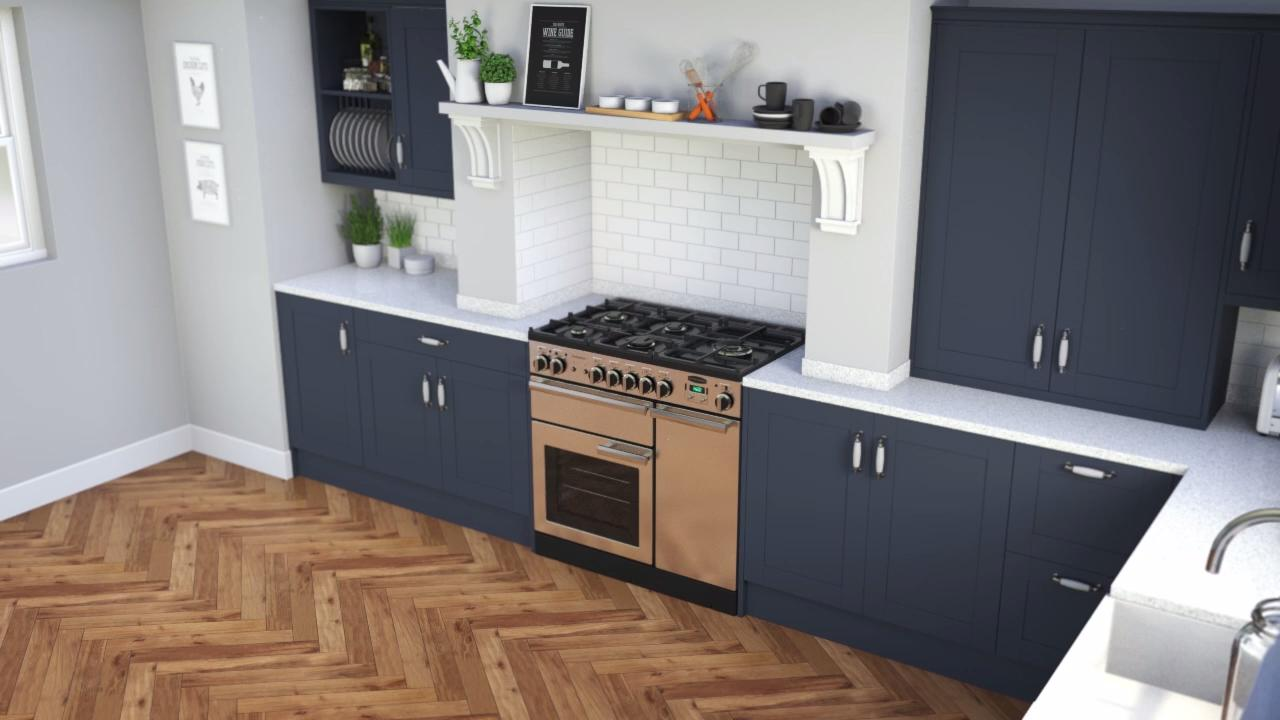 Home Professional Range Top Section